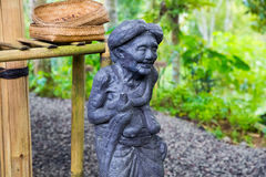 Traditional Balinese stone sculpture art and culture at Bali, In Stock Photography
