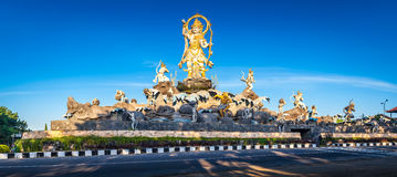 Traditional Balinese stone sculpture art and culture at Bali, Indonesia Royalty Free Stock Image