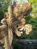 Traditional Balinese stone templ sculpture Indonesia Bali Royalty Free Stock Photos