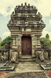 Traditional balinese temple - Pura Beji. Royalty Free Stock Photography