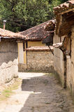 The traditional Balkan architecture in the narrow streets of Koprivshtitsa Stock Image