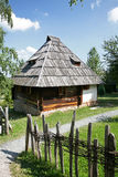 Traditional balkan shepherd house Stock Image