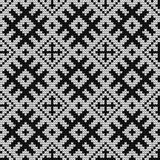 Traditional Baltic knitting pattern Stock Photos