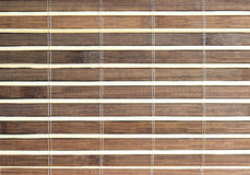 Traditional bamboo pad texture Stock Photo