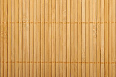 Traditional  bamboo pad texture. Royalty Free Stock Image