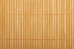 Traditional  bamboo pad texture. Stock Photos