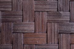 Traditional bamboo woven from Indonesia royalty free stock images