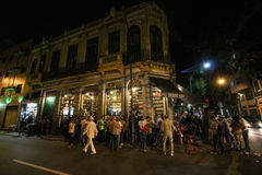 Traditional Bar founded by Portuguese is part of Carioca culture Stock Photography