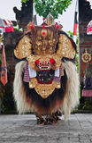 Traditional barong dance Royalty Free Stock Photo