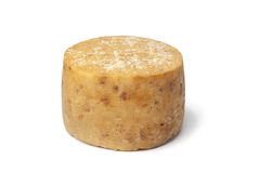 Traditional Basque sheep's milk cheese Royalty Free Stock Image
