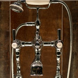 Traditional Bath Faucets Stock Photos