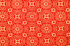 Traditional Batik Sarong Pattern Royalty Free Stock Photo