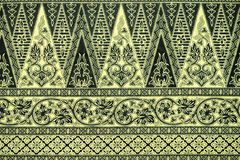 Batik Sarong Pattern Background Stock Photos
