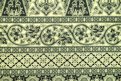 Batik Sarong Pattern Background Stock Image