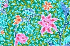Traditional batik sarong. Royalty Free Stock Photo