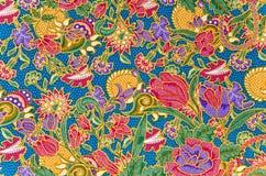 Traditional batik sarong pattern. Royalty Free Stock Photos