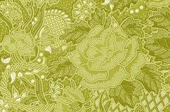 Traditional batik sarong pattern. Royalty Free Stock Photo