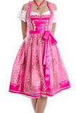 Traditional bavarian dress called Royalty Free Stock Photos