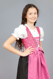 Traditional bavarian girl Royalty Free Stock Photos