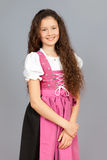 Traditional bavarian girl Stock Images