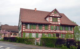 Traditional Bavarian house Stock Photos