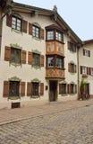 Traditional Bavarian house. Fussen, Germany Royalty Free Stock Photos