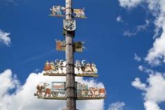 Free Traditional Bavarian Maypole Royalty Free Stock Photo - 19936425