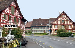 Traditional Bavarian village Royalty Free Stock Photography