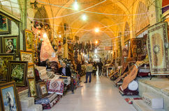 Traditional Bazar. Vakil bazar in Shiraz, Iran Royalty Free Stock Photography
