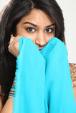 Traditional Beautiful Indian Woman Stock Photography