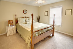 Traditional bedroom Stock Images