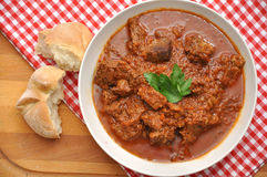 Traditional beef goulash Stock Images