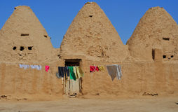 Traditional Beehive houses in Harran, Turkey Royalty Free Stock Image