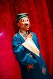 Beijing opera waxwork. Traditional Beijing opera actor waxwork in Performance clothing,china Royalty Free Stock Images