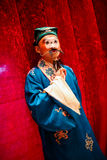 Beijing opera waxwork Royalty Free Stock Images