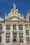 Traditional belgian architecture in Brussels Royalty Free Stock Photography