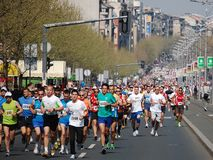 Marathoners and half-marathoners