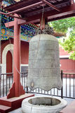 Traditional bell in Lama temple, Beijing, China Stock Photos