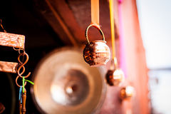 Traditional bells crafts in san miguel de allende Royalty Free Stock Images