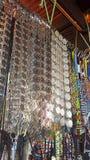 Traditional belt. Sabah metal beats stock images