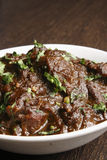 Traditional Bengali boneless mutton curry Stock Photo