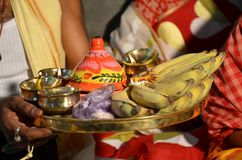 """Traditional Bengali wedding Rituals. There are many rituals of Bengali Wadding in India. It may be different on various locations. But Basic rituals like """"Puja Stock Images"""