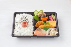Traditional bento japanese cuisine Royalty Free Stock Photos
