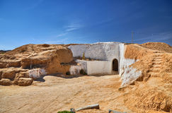 Traditional berber house, Matmata, Sahara Desert, Tunisia, Afric Stock Photo