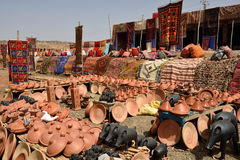 Traditional berber souvenirs for sale Stock Photography