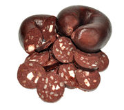 Traditional Black Pudding Stock Photography