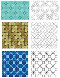 Blackwork patterns Royalty Free Stock Photography