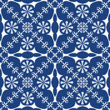 Traditional blue background Royalty Free Stock Image