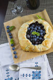 Traditional Blueberries pie Royalty Free Stock Photo