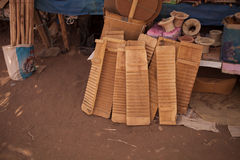 Traditional boards for washing clothes at the market Morocco Royalty Free Stock Photography